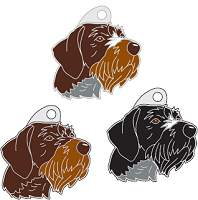 pet tags MjavHov - GERMAN WIREHAIRED POINTER