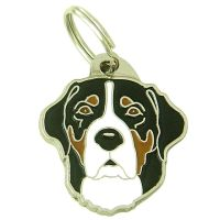 pet tags MjavHov - GREATER SWISS MOUNTAIN DOG