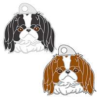 pet tags MjavHov - JAPANESE CHIN
