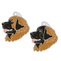 pet tags MjavHov - LEONBERGER