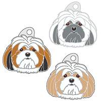 pet tags MjavHov - LHASA APSO