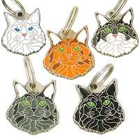 pet tags MjavHov - Maine Coon