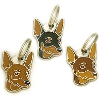 pet tags MjavHov - MINIATURE PINSCHER