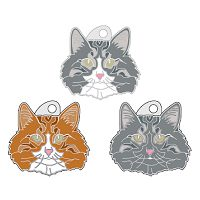 pet tags MjavHov - Norwegian Forest cat