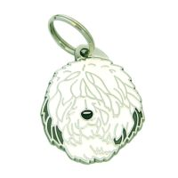 pet tags MjavHov - Old english sheepdog, Bobtail