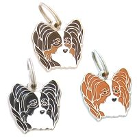 pet tags MjavHov - Papillon, Continental toy spaniel