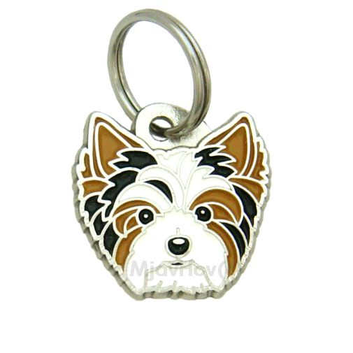 Custom personalized dog name tag BIEWER YORKSHIRE TERRIER