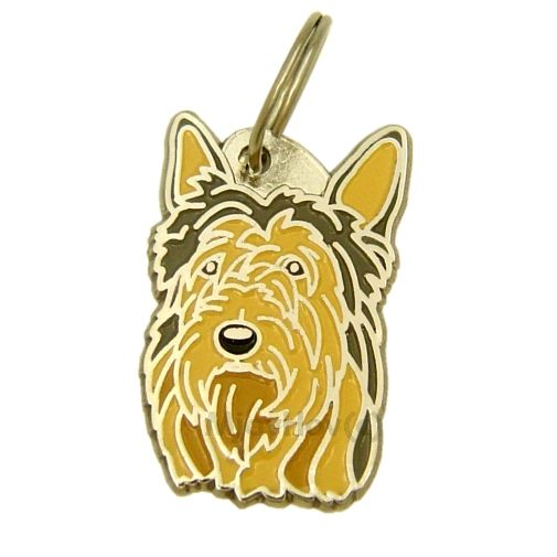 Custom personalized dog name tag BERGER PICARD