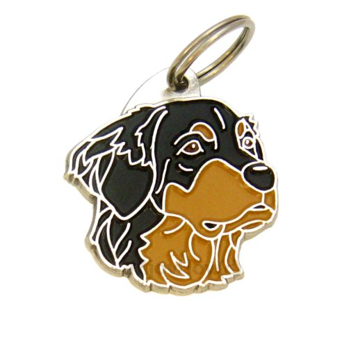 Custom personalized dog name tag HOVAWART