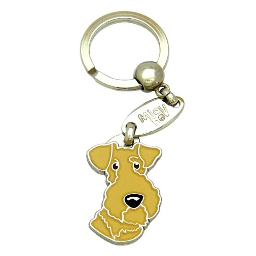 Custom personalized dog name tag LAKELAND TERRIER