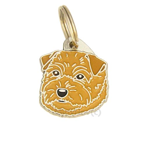 Custom personalized dog name tag NORFOLK TERRIER
