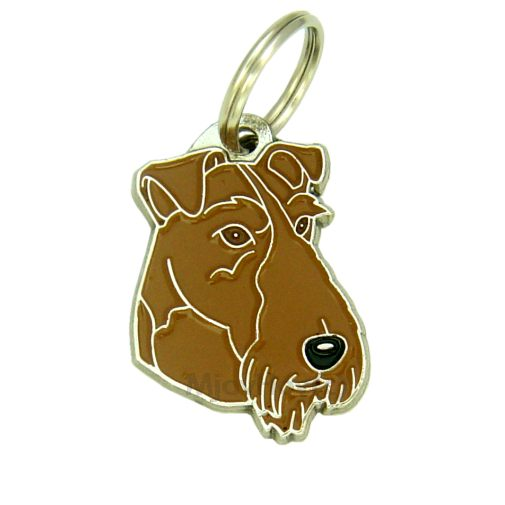 Custom personalized dog name tag IRISH TERRIER