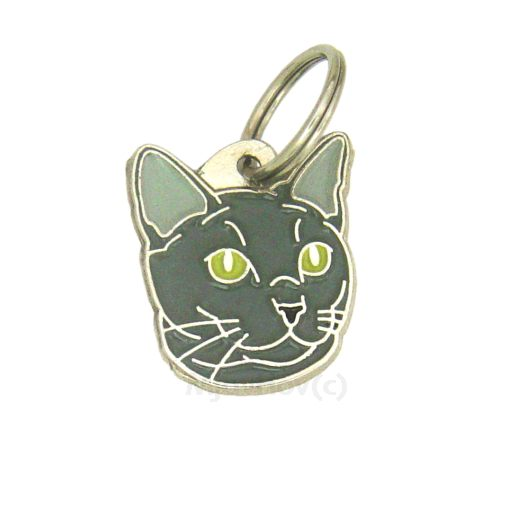 Custom personalized cat name tag RUSSIAN BLUE