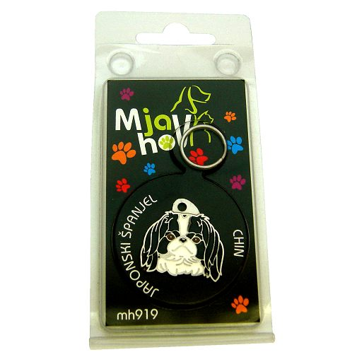 Custom personalized dog name tag JAPANESE CHIN