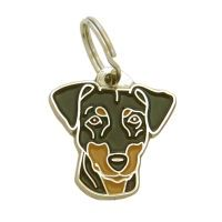 pet tags MjavHov - Pinscher