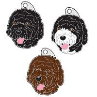 pet tags MjavHov - PORTUGUESE WATER DOG