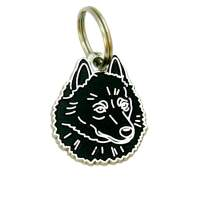 pet tags MjavHov - SCHIPPERKE