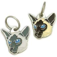 pet tags MjavHov - SIAMESE CAT