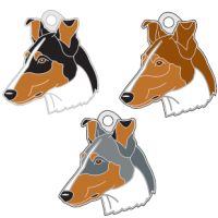 pet tags MjavHov - SMOOTH COLLIE