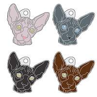 pet tags MjavHov - SPHYNX CAT