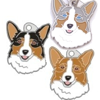 pet tags MjavHov - Welsh Corgi