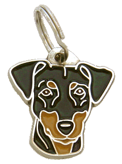 Pinseri - pet ID tag, dog ID tags, pet tags, personalized pet tags MjavHov - engraved pet tags online