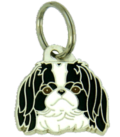 Japanese chin - pet ID tag, dog ID tags, pet tags, personalized pet tags MjavHov - engraved pet tags online