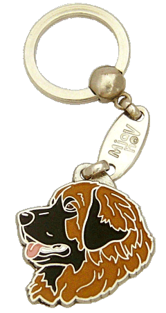 Leonberginkoira - pet ID tag, dog ID tags, pet tags, personalized pet tags MjavHov - engraved pet tags online