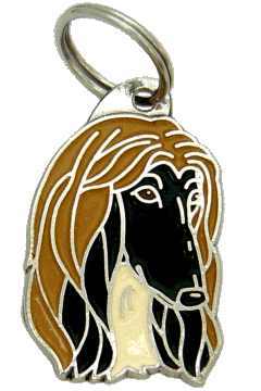 AFGHAN HOUND <br> (pet tag, engraving included)