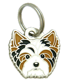 BIEWER YORKSHIRE TERRIER - pet ID tag, dog ID tags, pet tags, personalized pet tags MjavHov - engraved pet tags online