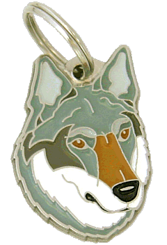CZECHOSLOVAKIAN WOLFDOG - pet ID tag, dog ID tags, pet tags, personalized pet tags MjavHov - engraved pet tags online