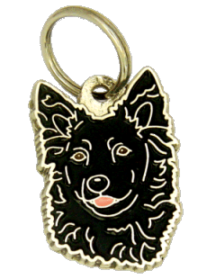 MUDI BLACK - pet ID tag, dog ID tags, pet tags, personalized pet tags MjavHov - engraved pet tags online