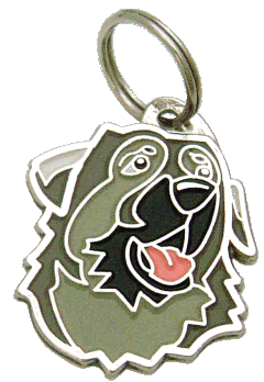 KARST SHEPHERD BLACK MUZZLE - pet ID tag, dog ID tags, pet tags, personalized pet tags MjavHov - engraved pet tags online