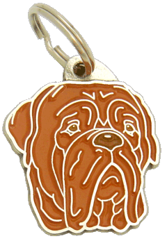 DOGUE DE BORDEAUX - pet ID tag, dog ID tags, pet tags, personalized pet tags MjavHov - engraved pet tags online