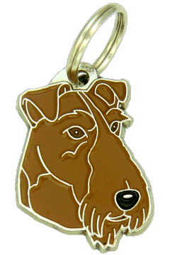 IRISH TERRIER <br> (pet tag, engraving included)