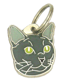RUSSIAN BLUE <br> (pet tag, engraving included)
