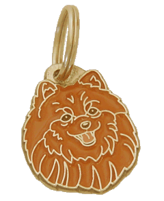 POMERANIAN <br> (pet tag, engraving included)