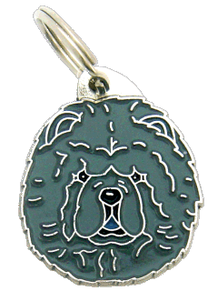 CHOW CHOW BLUE - pet ID tag, dog ID tags, pet tags, personalized pet tags MjavHov - engraved pet tags online