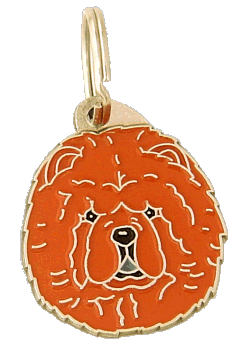 CHOW CHOW - pet ID tag, dog ID tags, pet tags, personalized pet tags MjavHov - engraved pet tags online