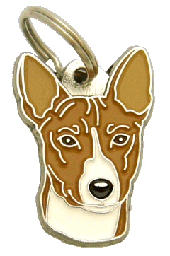 BASENJI - pet ID tag, dog ID tags, pet tags, personalized pet tags MjavHov - engraved pet tags online