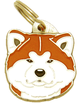 AKITA INU <br> (pet tag, engraving included)