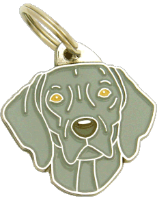 WEIMARANER - pet ID tag, dog ID tags, pet tags, personalized pet tags MjavHov - engraved pet tags online