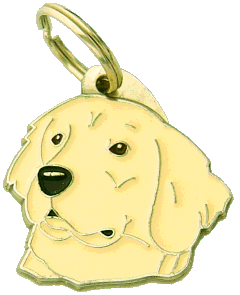 GOLDEN RETRIEVER - pet ID tag, dog ID tags, pet tags, personalized pet tags MjavHov - engraved pet tags online