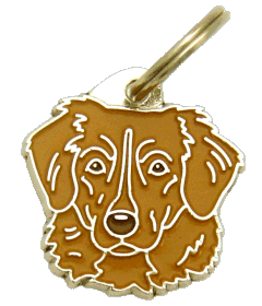 NOVA SCOTIA DUCK TOLLING RETRIEVER-TOLLER BROWN - pet ID tag, dog ID tags, pet tags, personalized pet tags MjavHov - engraved pet tags online
