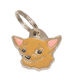 CHIHUAHUA BROWN <br> (pet tag, engraving included)