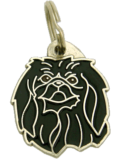 PEKINGESE BLACK <br> (pet tag, engraving included)