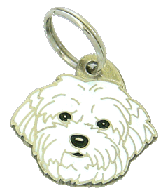 COTON DE TULEAR - pet ID tag, dog ID tags, pet tags, personalized pet tags MjavHov - engraved pet tags online