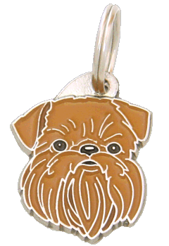 BRUSSELS GRIFFON - pet ID tag, dog ID tags, pet tags, personalized pet tags MjavHov - engraved pet tags online