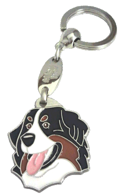 BERNESE MOUNTAIN DOG <br> (keyring, engraving included)