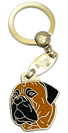 BULLMASTIFF <br> (keyring, engraving included)